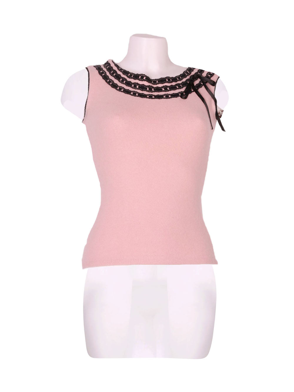 Front photo of Preloved ARIA PURA Pink Woman's sleeveless top - size 8/S