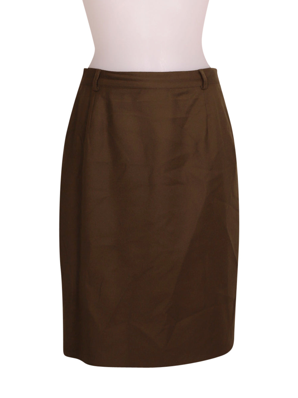 Front photo of Preloved Ballantyne Green Woman's skirt - size 8/S