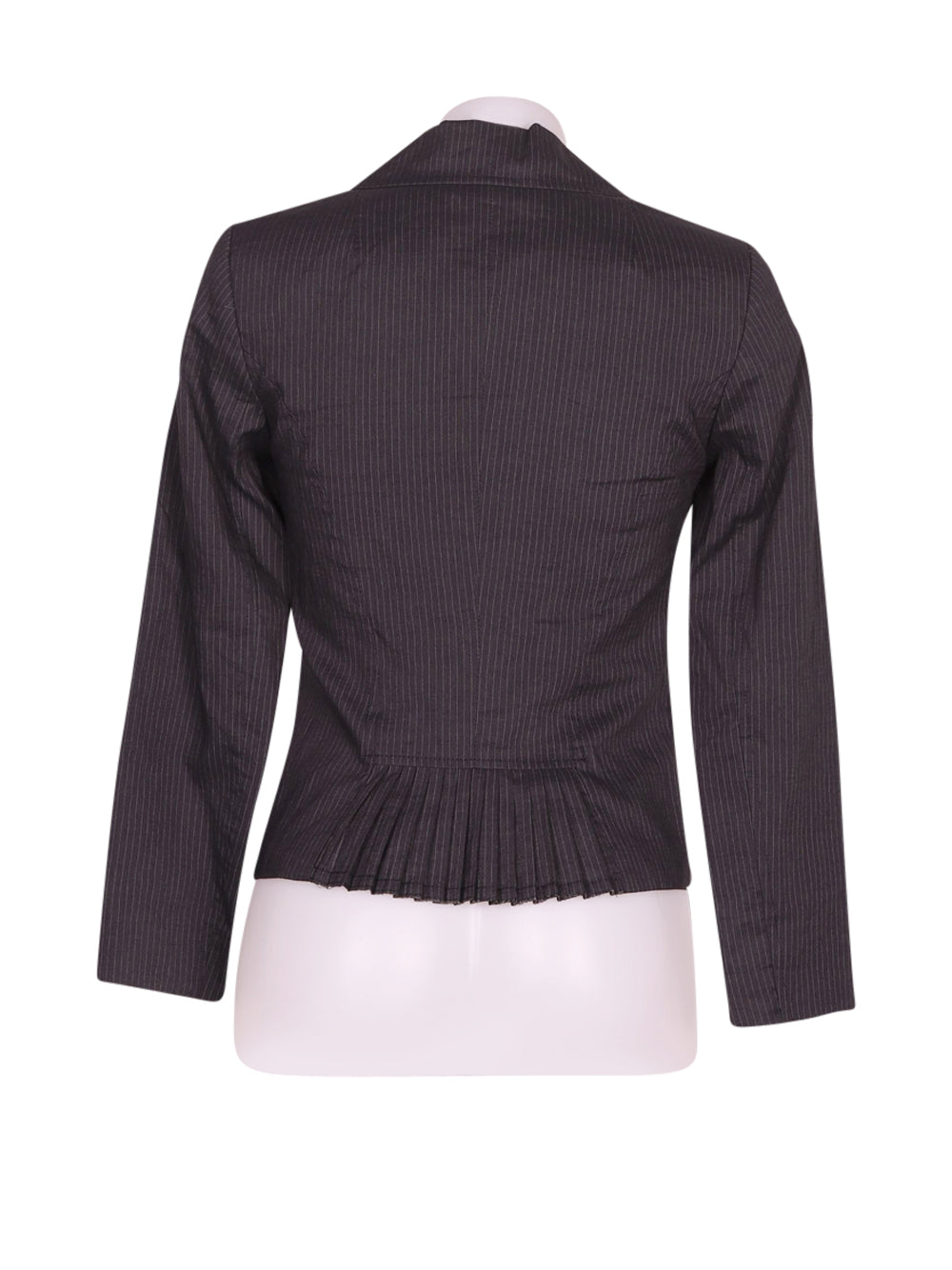 Back photo of Preloved Nell&me Grey Woman's blazer - size 8/S
