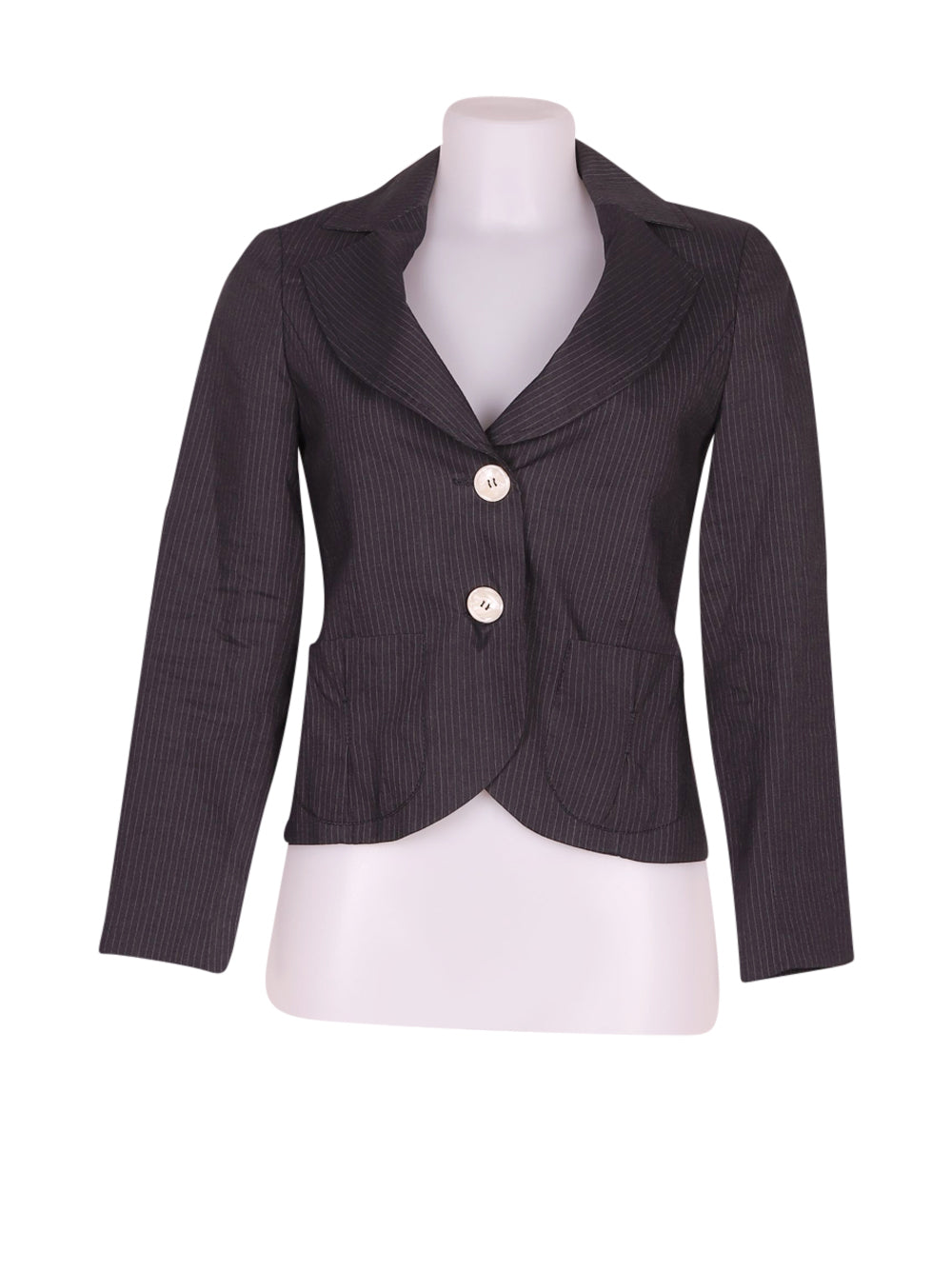 Front photo of Preloved Nell&me Grey Woman's blazer - size 8/S