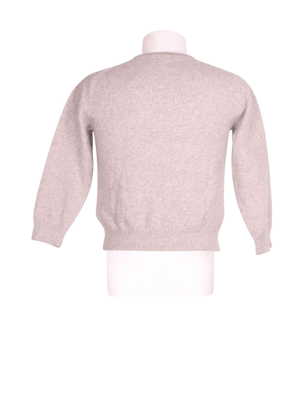 Back photo of Preloved Pierre Cardin Grey Man's sweater - size 38/M