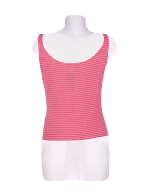 Back photo of Preloved landini Pink Woman's sleeveless top - size 12/L