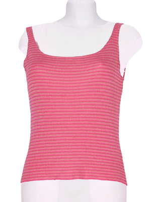Detail photo of Preloved landini Pink Woman's sleeveless top - size 12/L