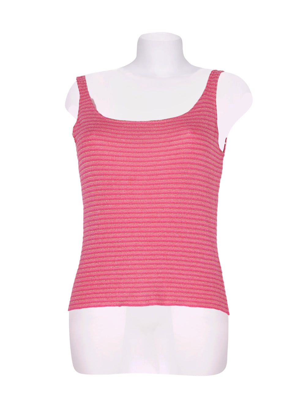 Front photo of Preloved landini Pink Woman's sleeveless top - size 12/L