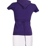 Back photo of Preloved Silvian Heach Violet Woman's sweatshirt - size 8/S