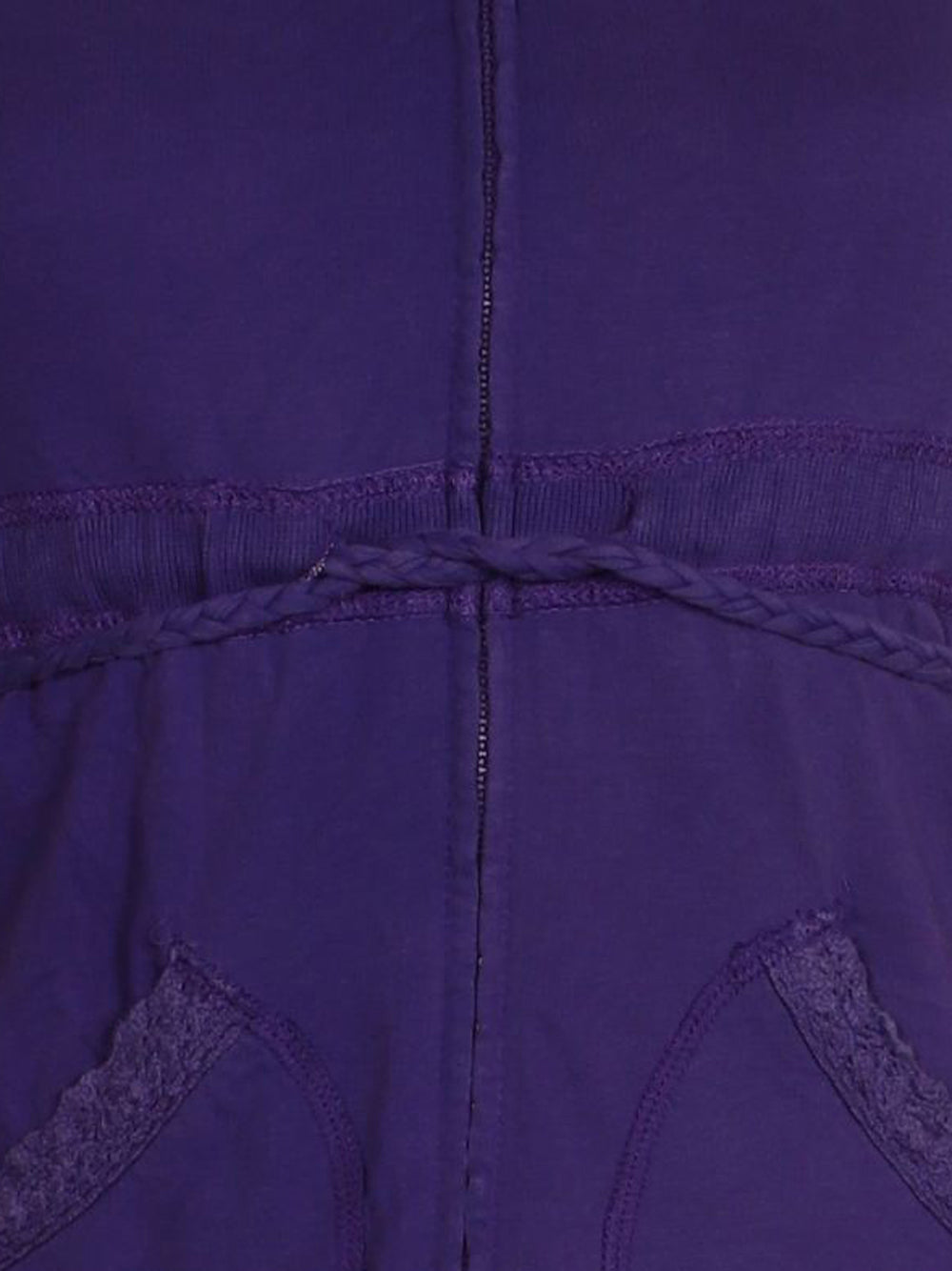 Detail photo of Preloved Silvian Heach Violet Woman's sweatshirt - size 8/S