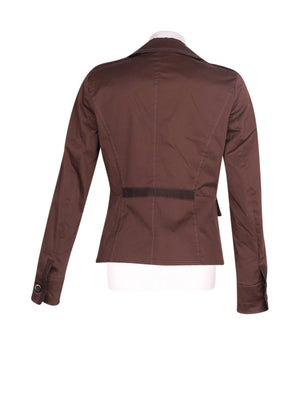 Back photo of Preloved Marella Brown Woman's jacket - size 10/M
