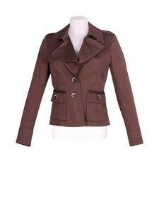 Front photo of Preloved Marella Brown Woman's jacket - size 10/M