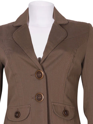 Detail photo of Preloved Rinascimento - Made In Italy Beige Woman's blazer - size 10/M