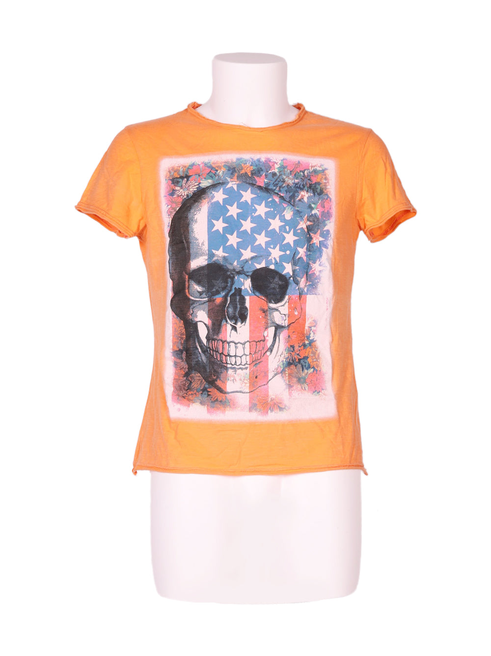 Front photo of Preloved challenger Orange Man's t-shirt - size 38/M