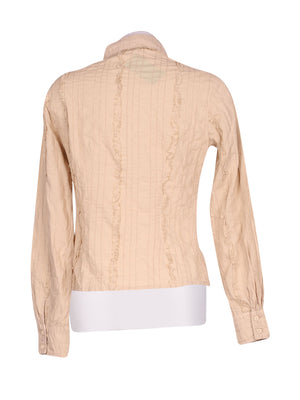 Back photo of Preloved GERMANO ZAMA Beige Woman's shirt - size 8/S