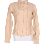 Front photo of Preloved GERMANO ZAMA Beige Woman's shirt - size 8/S