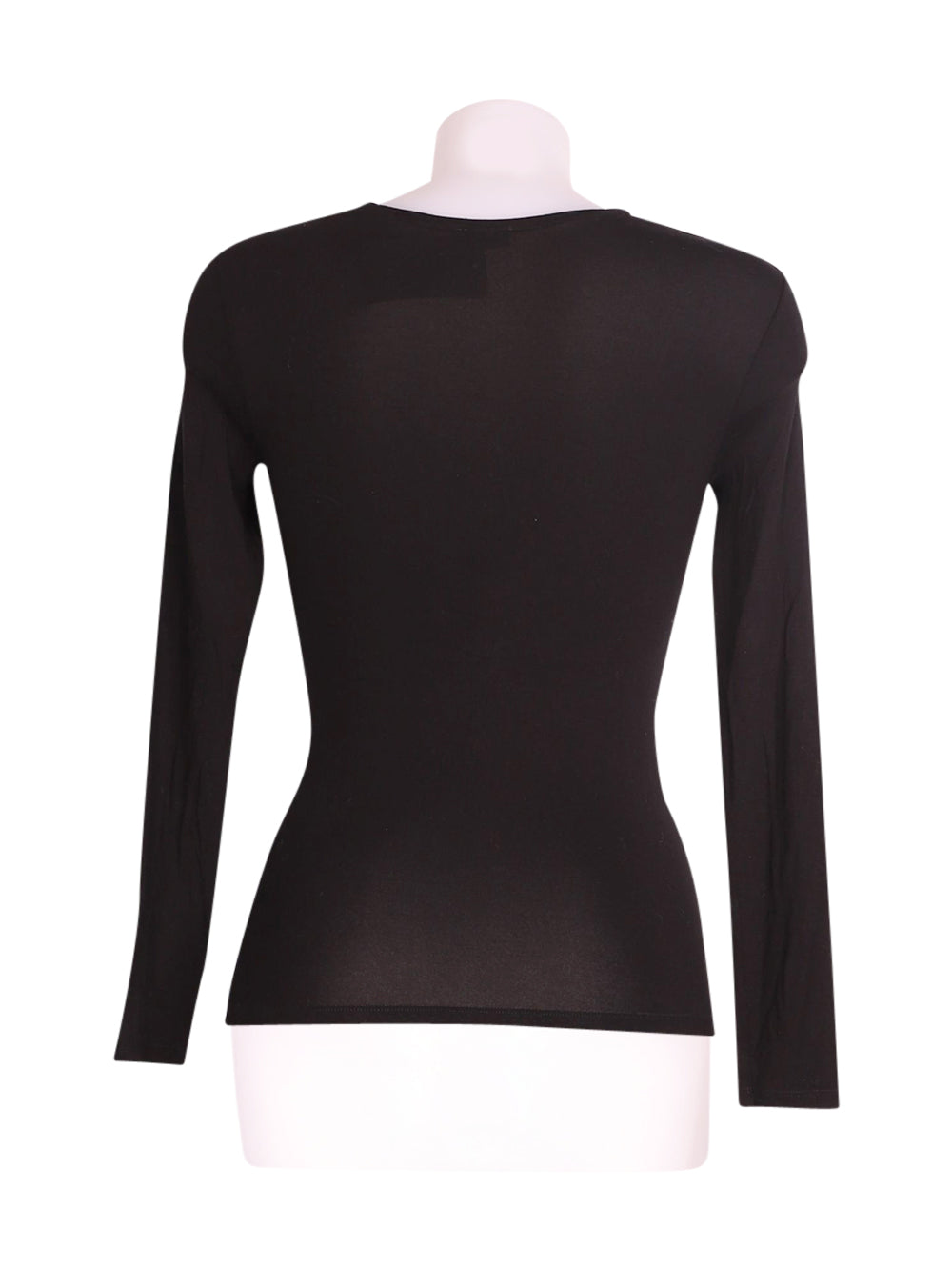 Back photo of Preloved Intimissimi Black Woman's long sleeved shirt - size 8/S
