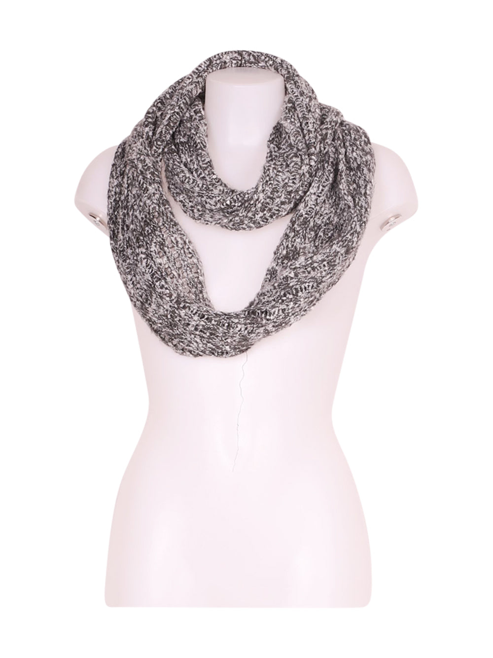 Front photo of Preloved Hollister Grey Woman's scarf - size one-size