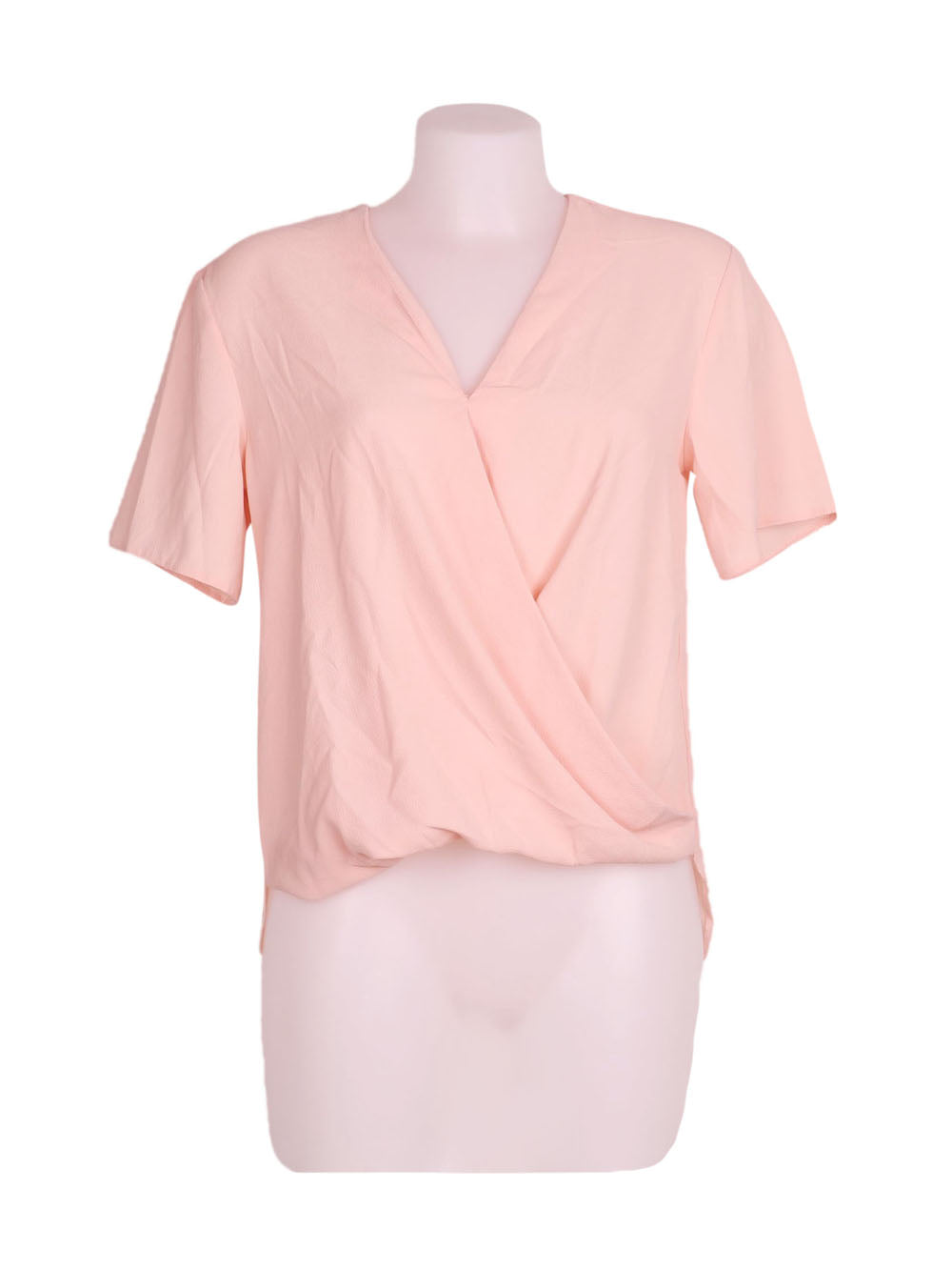 Front photo of Preloved Asos Pink Woman's shirt - size 6/XS