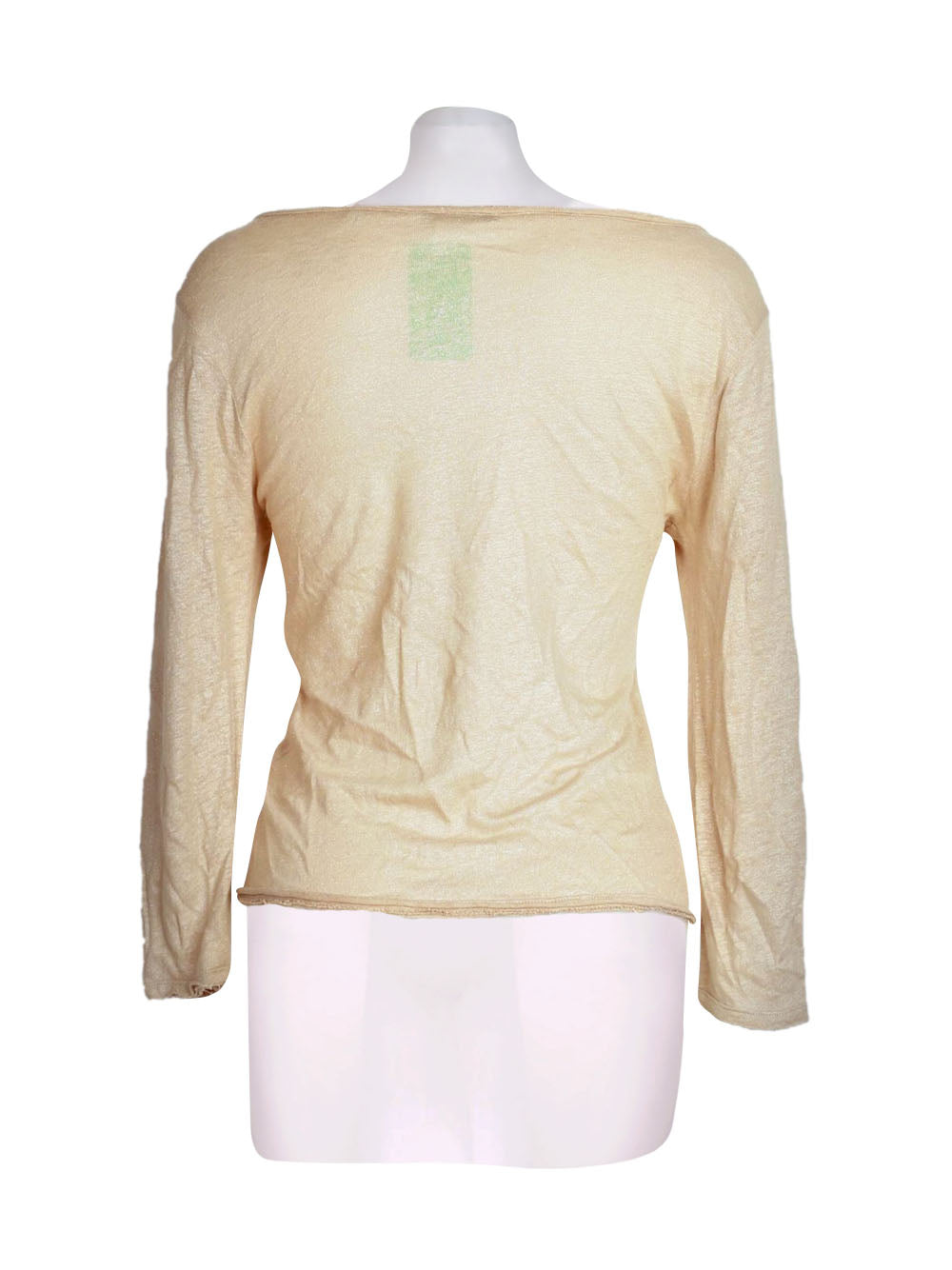Back photo of Preloved Rich&Royal Beige Woman's cardigan - size 12/L