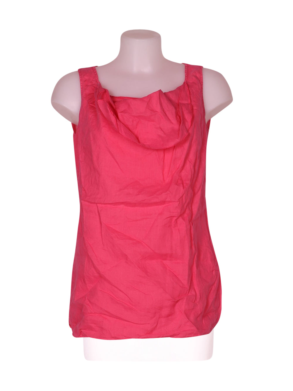 Front photo of Preloved Cerruti 1881 Pink Woman's sleeveless top - size 8/S