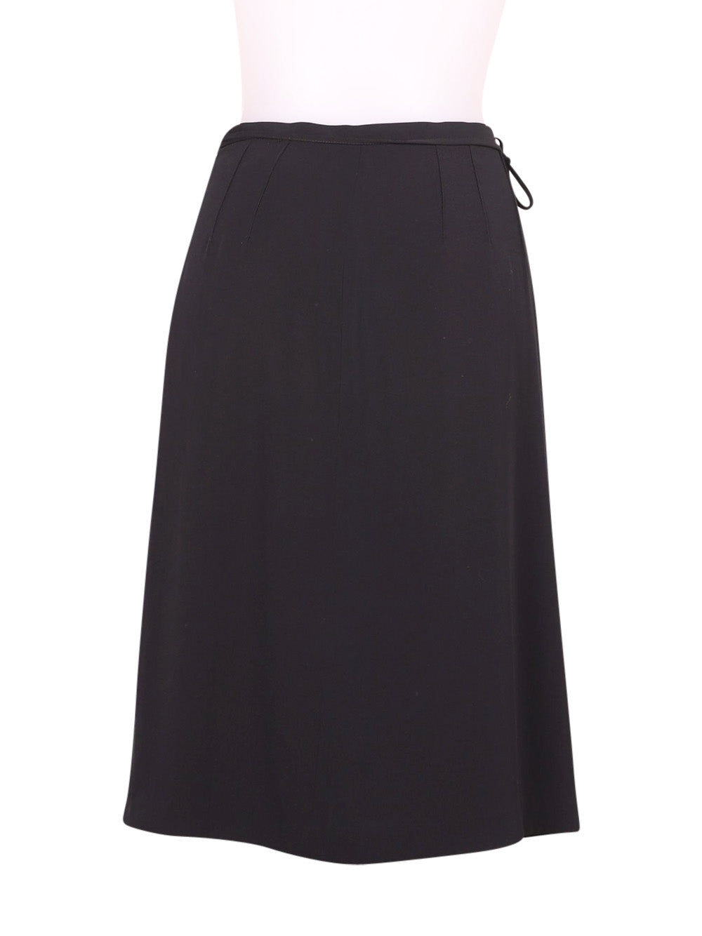 Back photo of Preloved Stefanel Black Woman's skirt - size 8/S