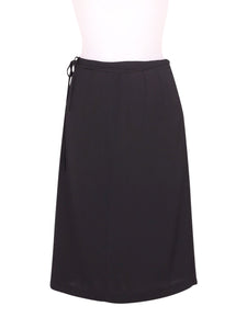 Front photo of Preloved Stefanel Black Woman's skirt - size 8/S