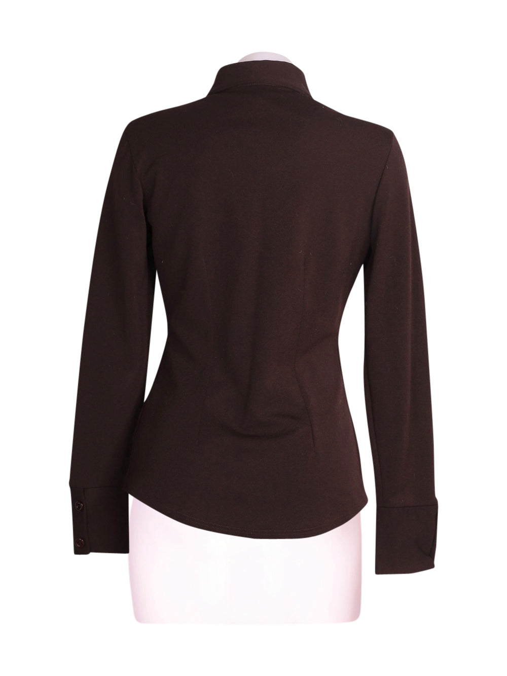 Back photo of Preloved Pinko Brown Woman's jacket - size 10/M
