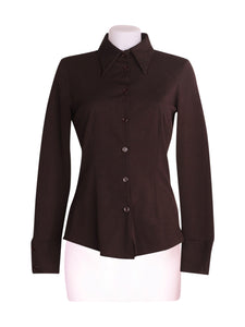Front photo of Preloved Pinko Brown Woman's jacket - size 10/M