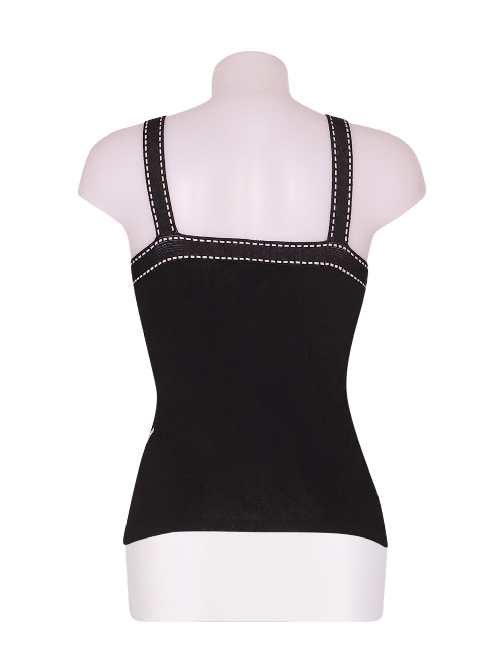 Back photo of Preloved rafael Black Woman's sleeveless top - size 8/S