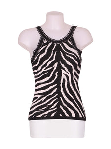 Front photo of Preloved rafael Black Woman's sleeveless top - size 8/S