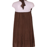 Back photo of Unworn Jucca Brown Woman's dress - size 12/L