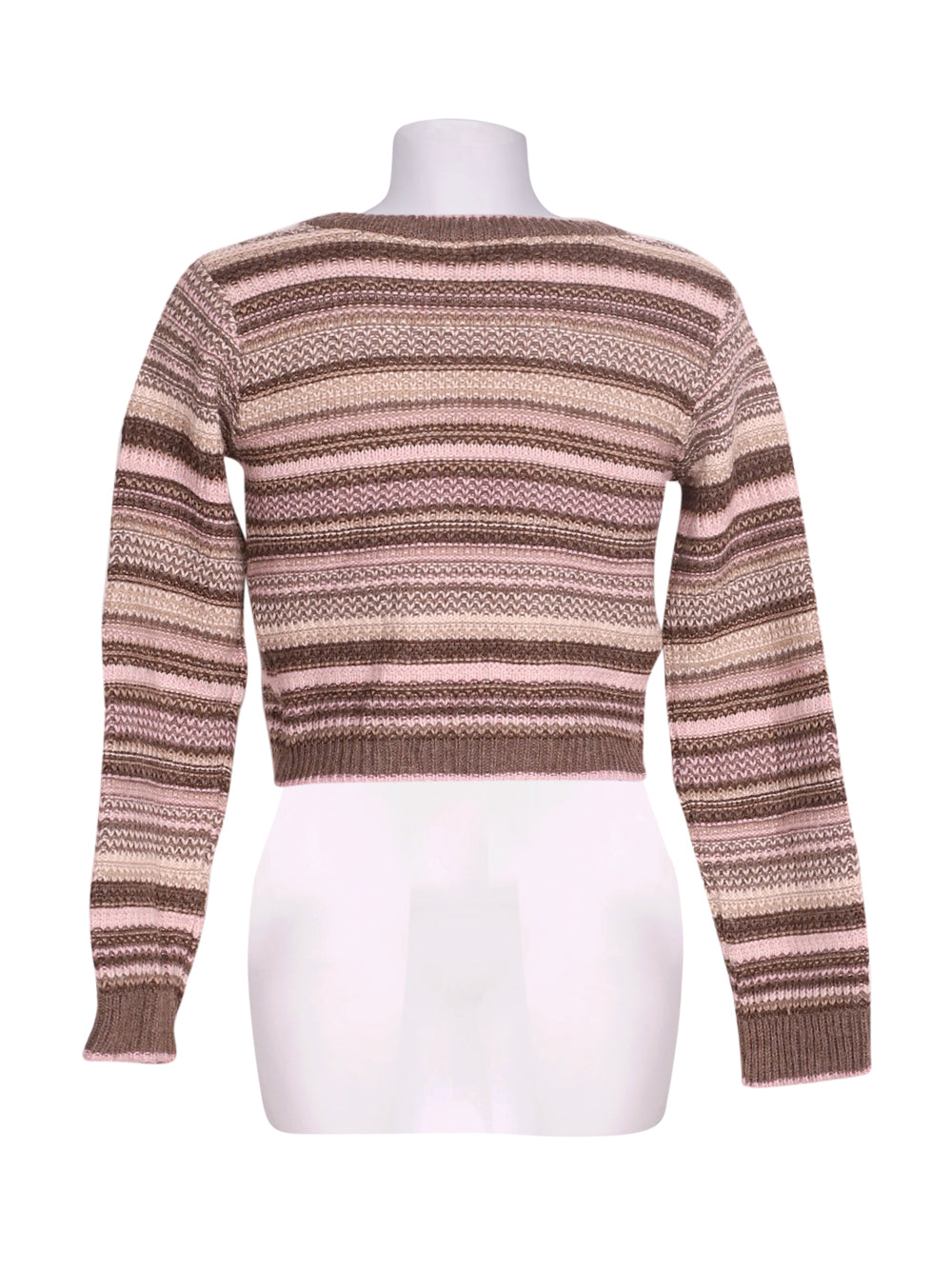 Back photo of Preloved Motivi Brown Woman's bolero - size 8/S