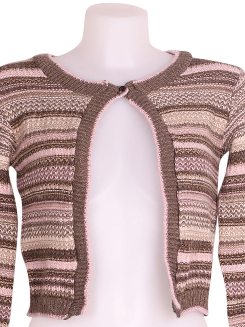 Detail photo of Preloved Motivi Brown Woman's bolero - size 8/S