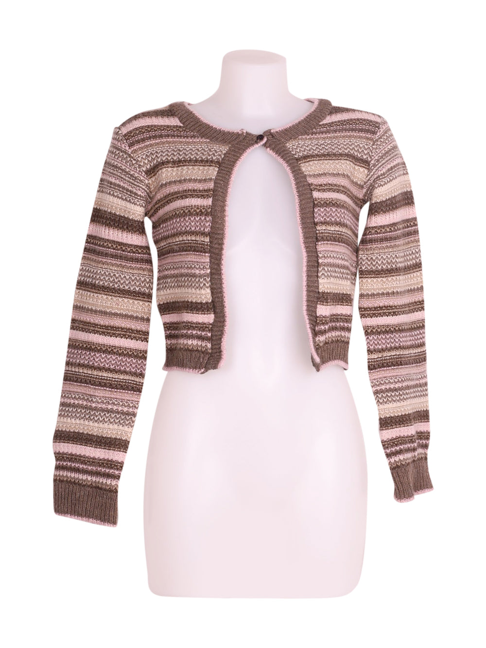 Front photo of Preloved Motivi Brown Woman's bolero - size 8/S