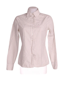 Front photo of Preloved Benetton White Woman's shirt - size 8/S