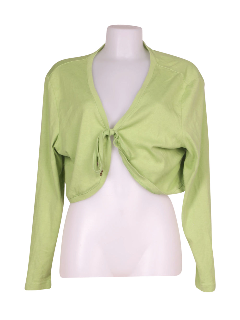 Front photo of Preloved Taifun Green Woman's bolero - size 14/XL