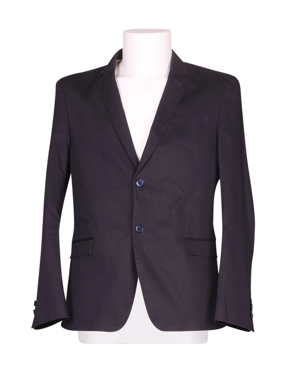 Front photo of Preloved john barritt Black Man's blazer - size 38/M