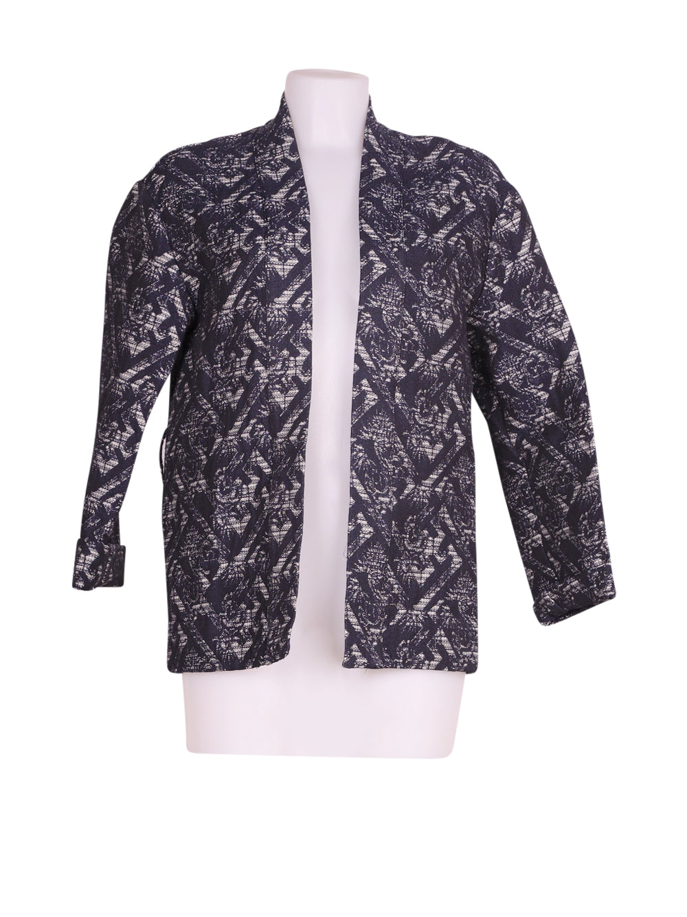 Front photo of Preloved MNG Blue Woman's jacket - size 8/S