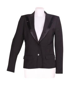Front photo of Preloved GRIFONI Black Woman's blazer - size 10/M