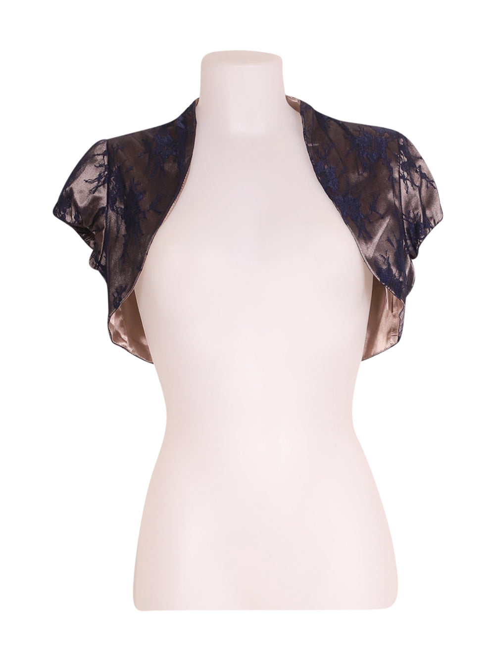 Front photo of Preloved Omai Beige Woman's bolero - size 8/S