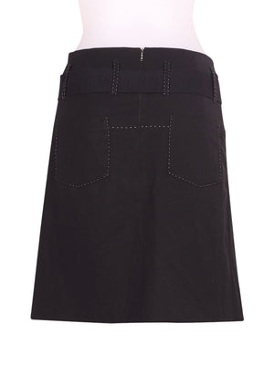 Back photo of Preloved blue Black Woman's skirt - size 10/M
