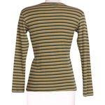 Back photo of Preloved free spirit Green Woman's long sleeved shirt - size 8/S