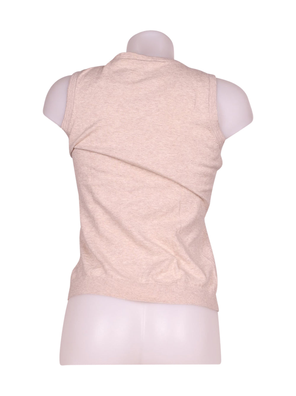 Back photo of Preloved Gap Beige Woman's waistcoat - size 10/M