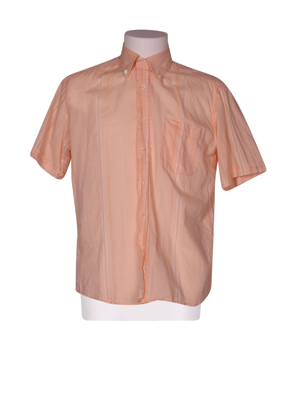 Front photo of Preloved Rocco Barocco Pink Man's shirt - size 34/XS