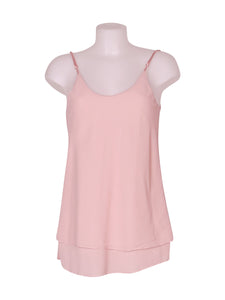 Front photo of Unworn linda Pink Woman's sleeveless top - size 8/S