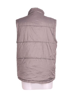 Back photo of Preloved Everlast Grey Woman's sleeveless winter coat - size 12/L