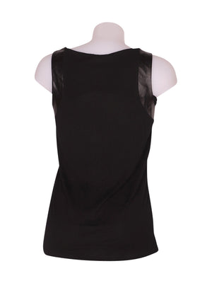 Back photo of Preloved Intimissimi Black Woman's sleeveless top - size 8/S