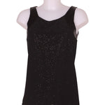 Front photo of Preloved Intimissimi Black Woman's sleeveless top - size 8/S