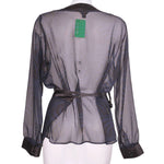 Back photo of Preloved tcm Blue Woman's bolero - size 18/XXXL