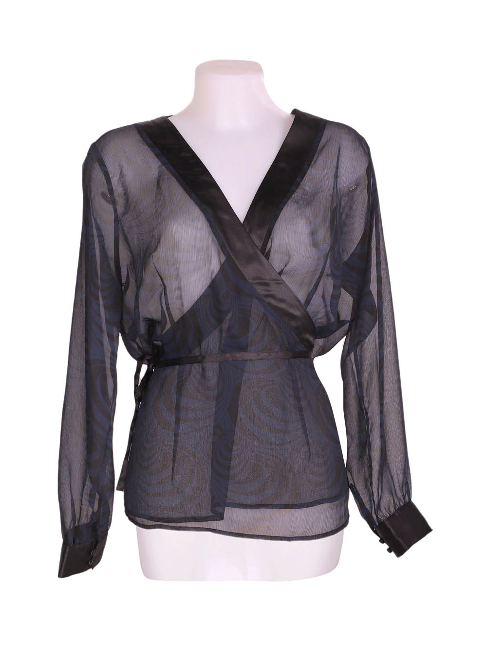 Front photo of Preloved tcm Blue Woman's bolero - size 18/XXXL