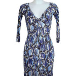 Front photo of Preloved Miss Sixty Blue Woman's dress - size 6/XS