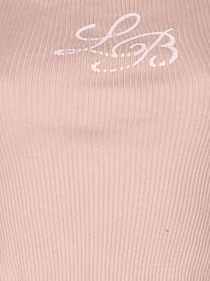 Detail photo of Preloved Laura Biagiotti Beige Woman's sleeveless top - size 6/XS