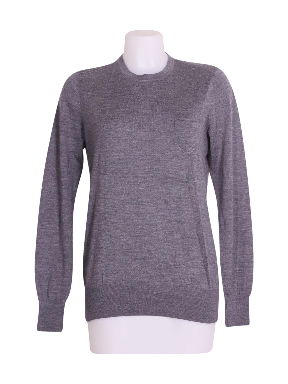 Front photo of Preloved Kaos Grey Man's sweater - size 40/L